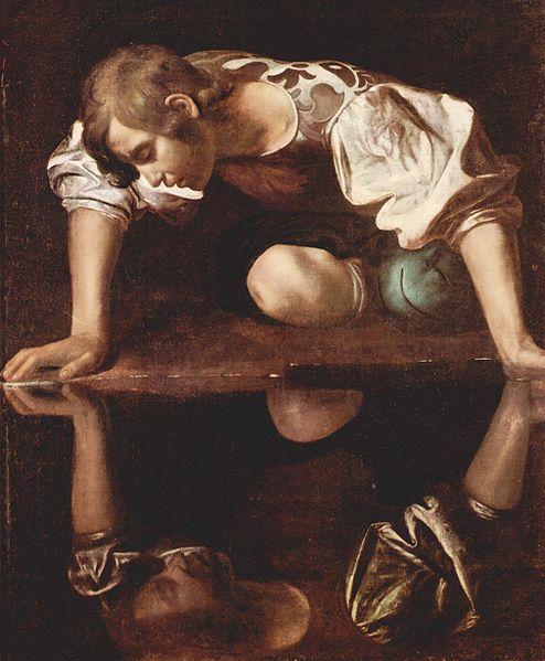 Michelangelo da Caravaggio, Narcissus, 1600